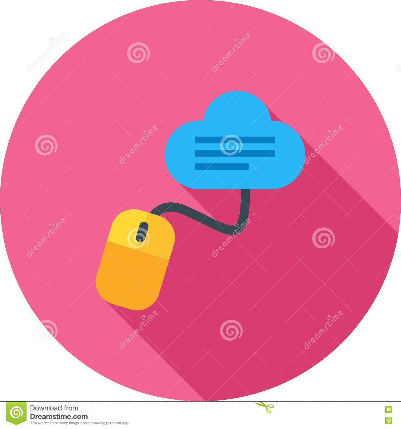 Notes on Cloud stock vector  Illustration of icon