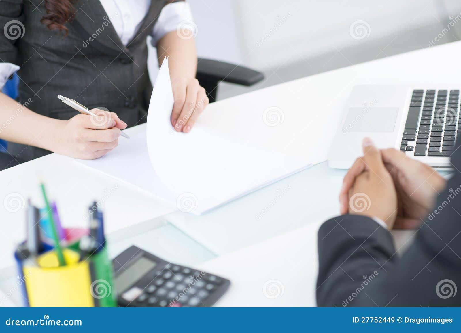 Notes d affaires
