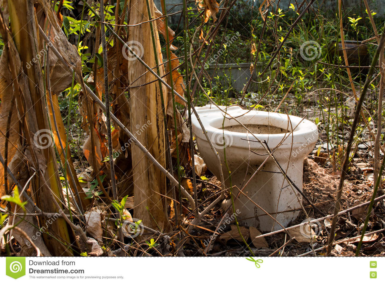 how to build a latrine for camping