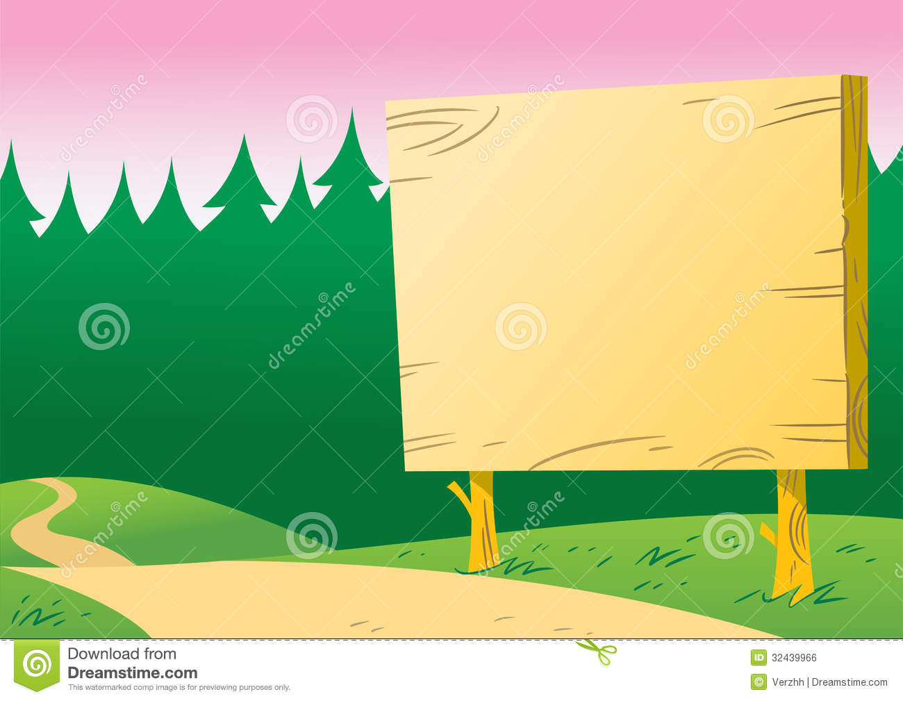notice board along the road royalty free stock image Silly Camping RV Camping Clip Art