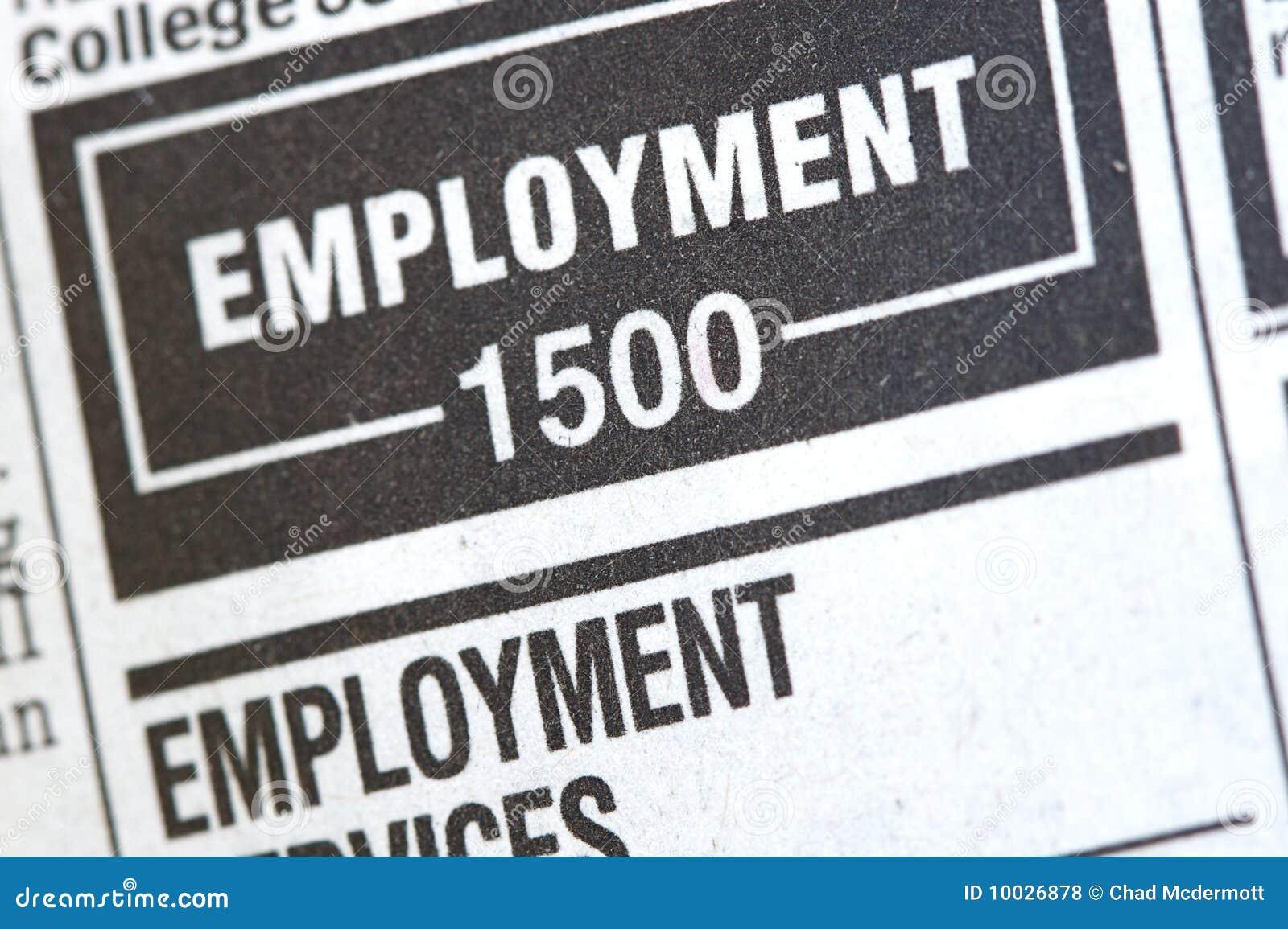 Noticias del desempleo