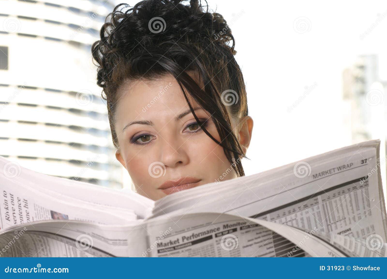Download Noticias diarias imagen de archivo. Imagen de financiero - 31923
