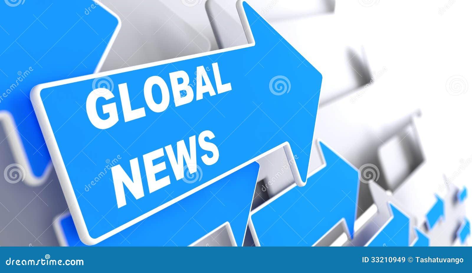Noticias globales. Concepto de la información.