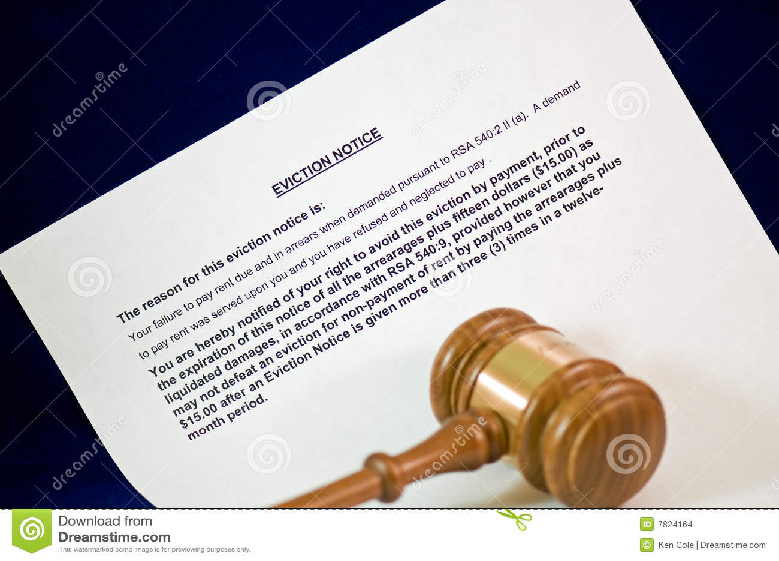 Notification de marteau d expulsion