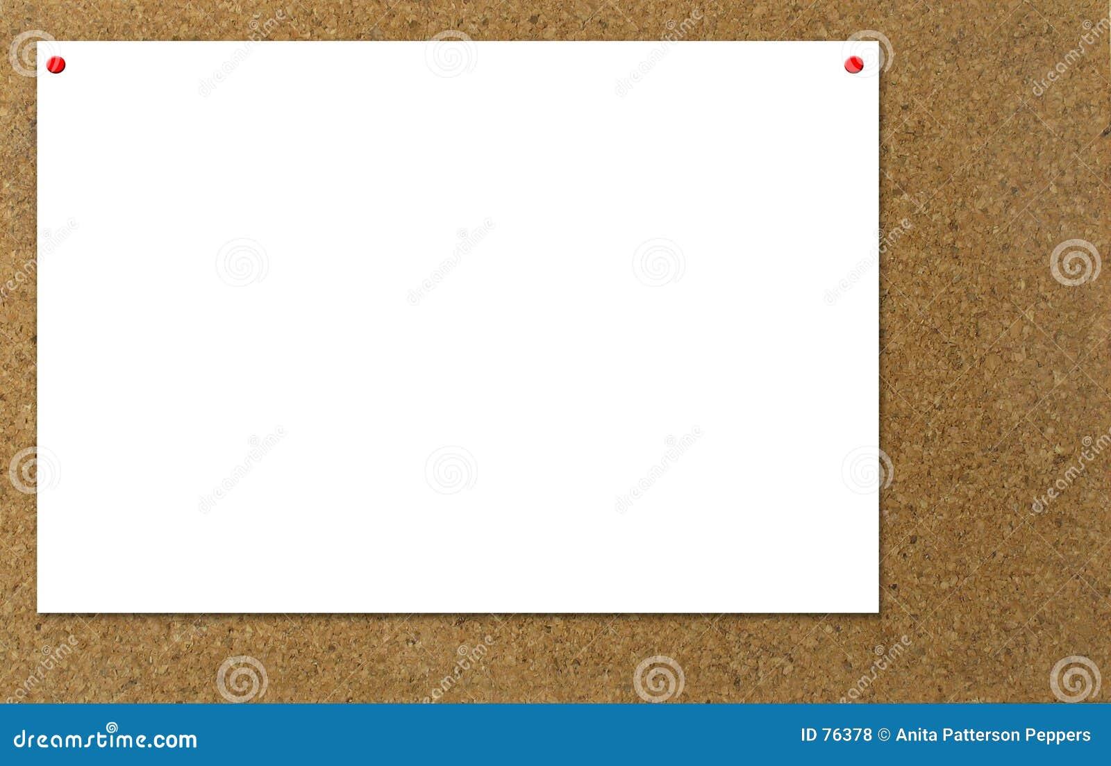 Notification de tableau d affichage