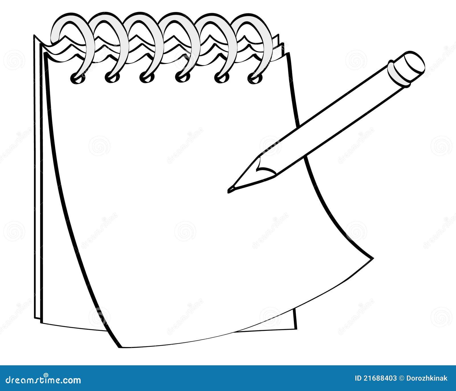 Free Worksheets xl worksheet : Notizblock Mit Einem Bleistift Stockfotos - Bild: 21688403