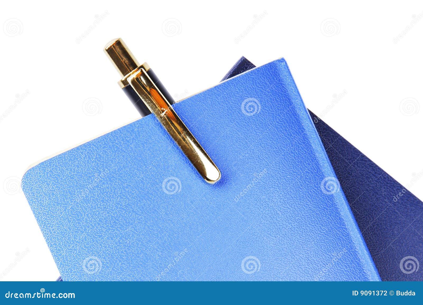 Notizbuch u. Feder