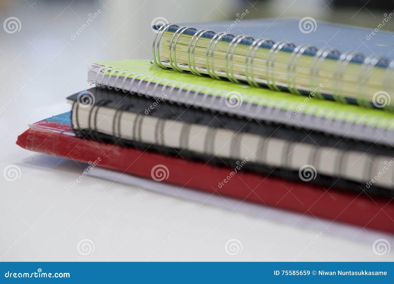 Notizbuch und Buchhaltungsanmerkung