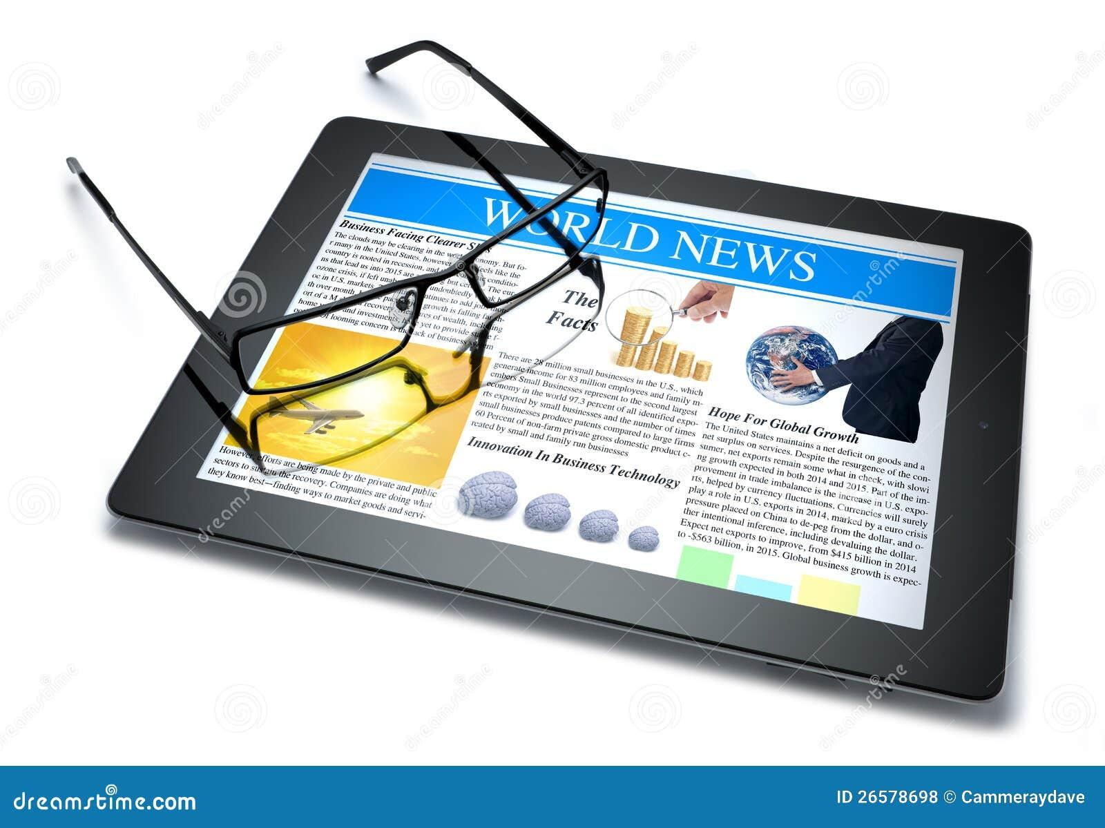 Notizie in linea del ridurre in pani di tecnologia