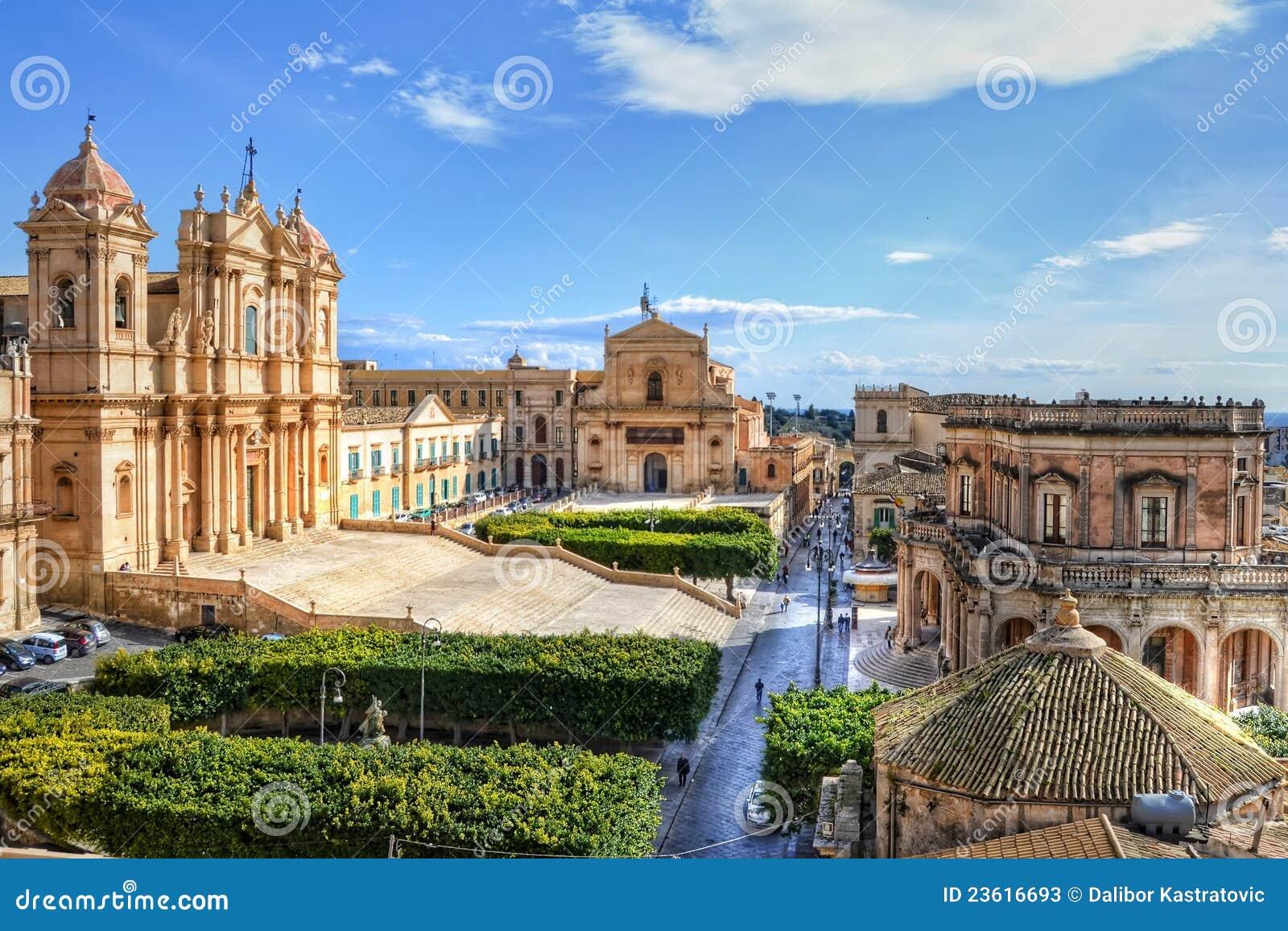 Noto, Sicilia