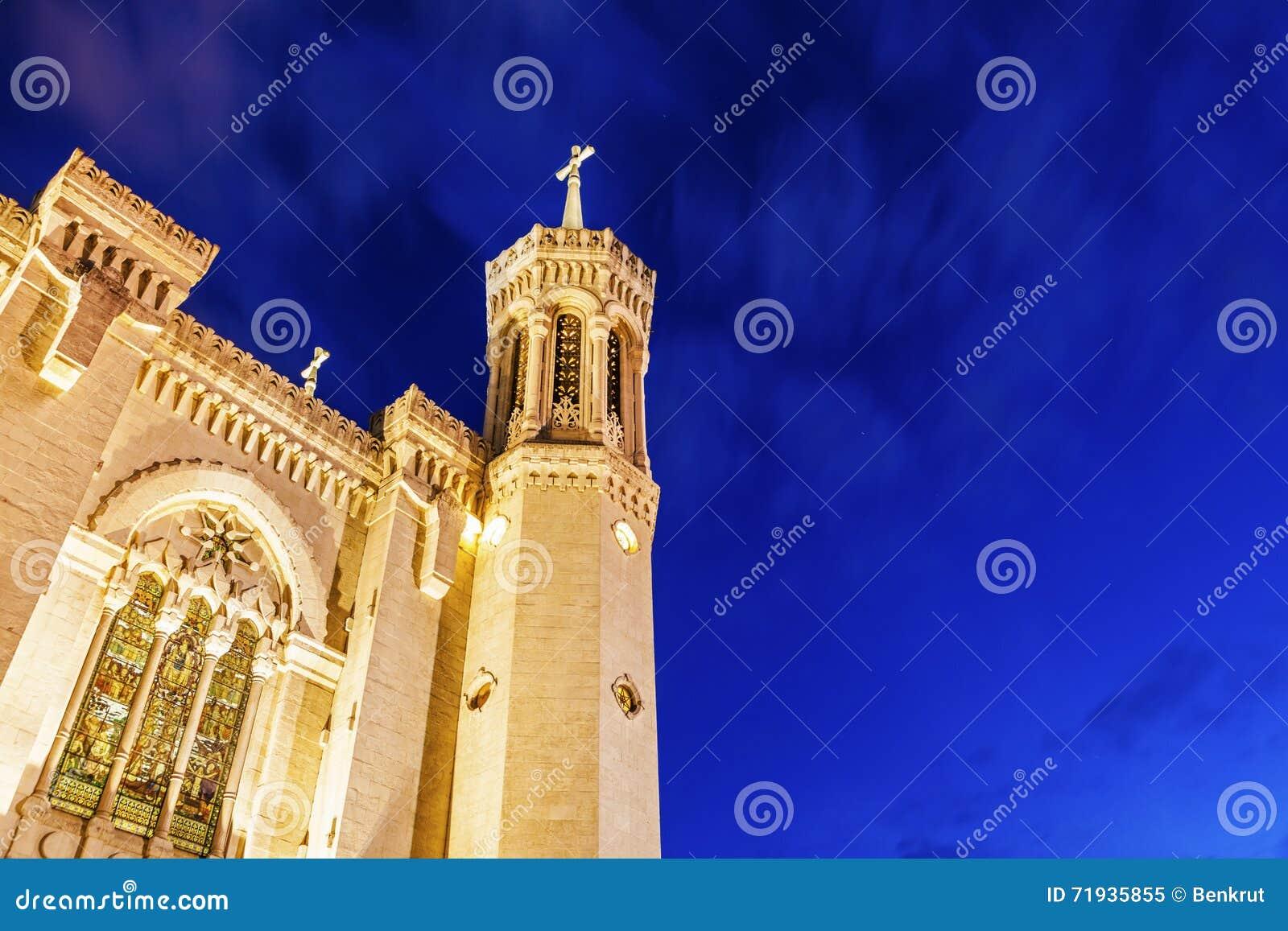 Notre базилики dame de fourviere lyon