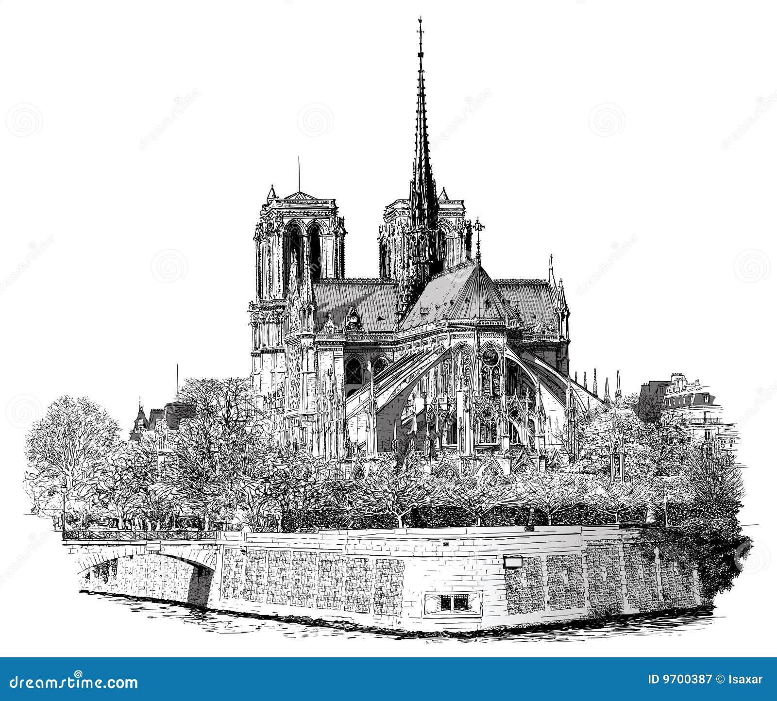 Notre Damae w Paryż