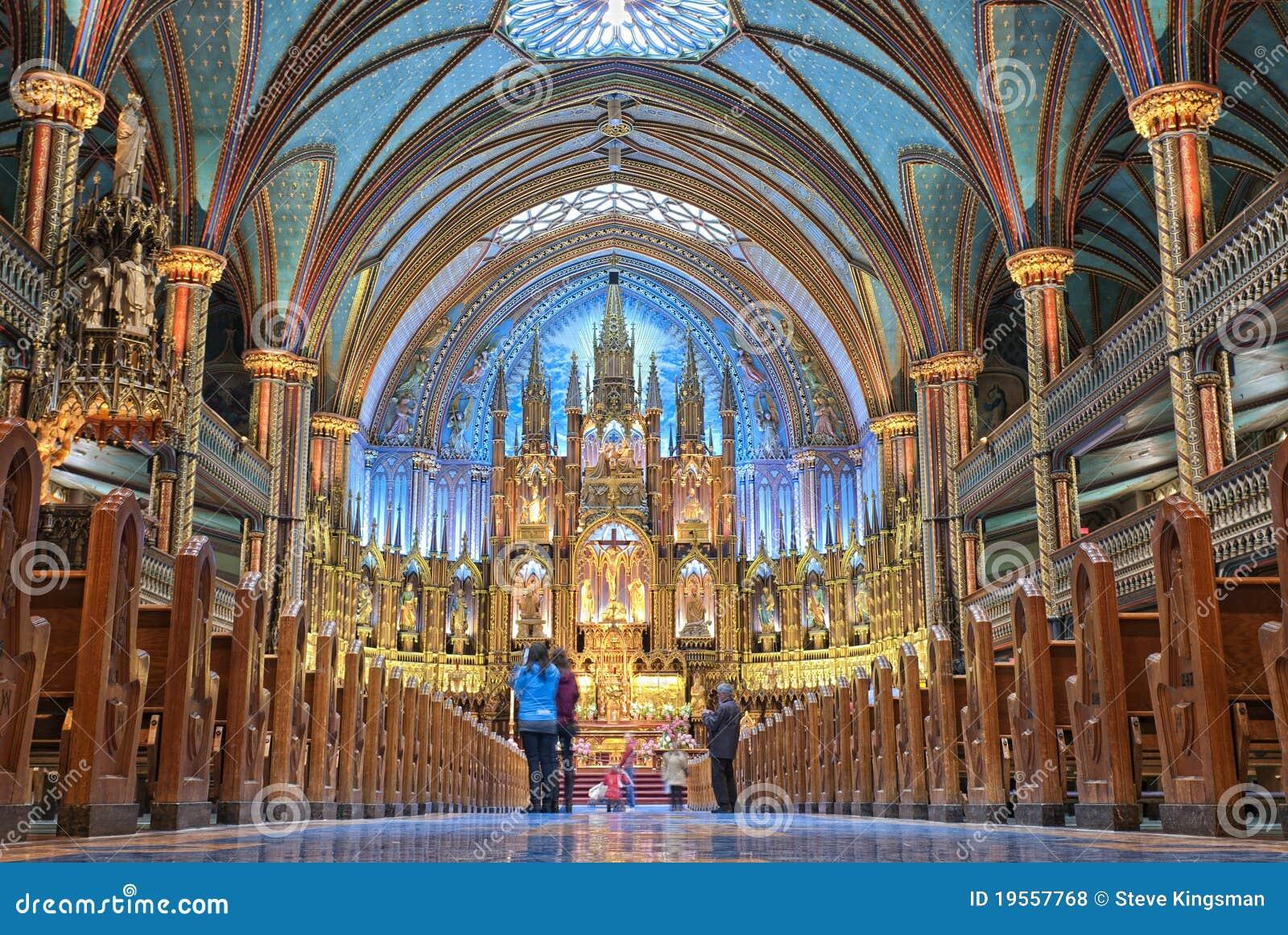 Notre Dame Basilica Royalty Free Stock Photos Image
