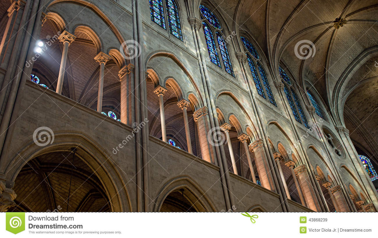 Notre Dame Cathedral Interior Photo