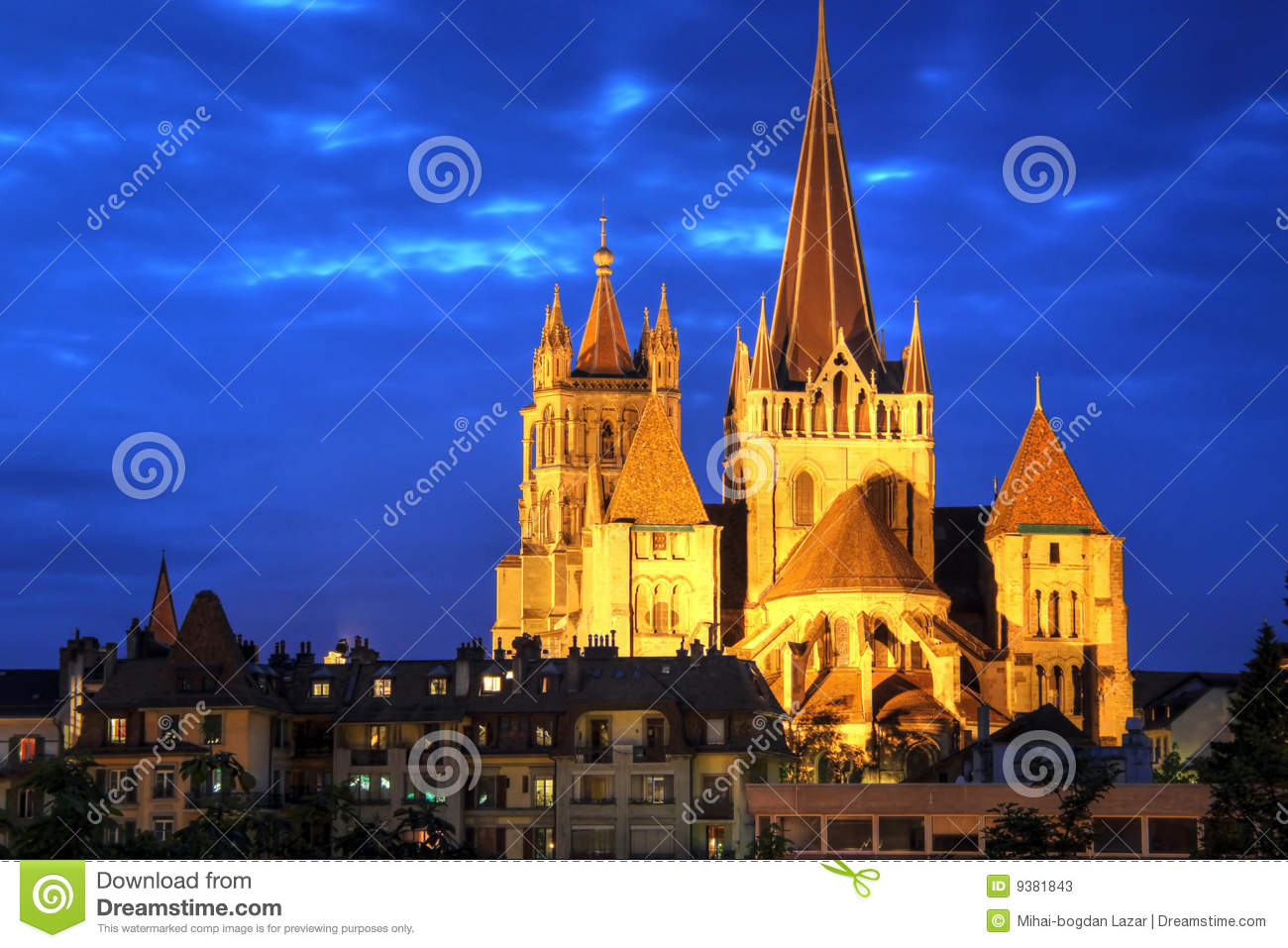 Notre-Dame Cathedral of Lausanne, Switzerland