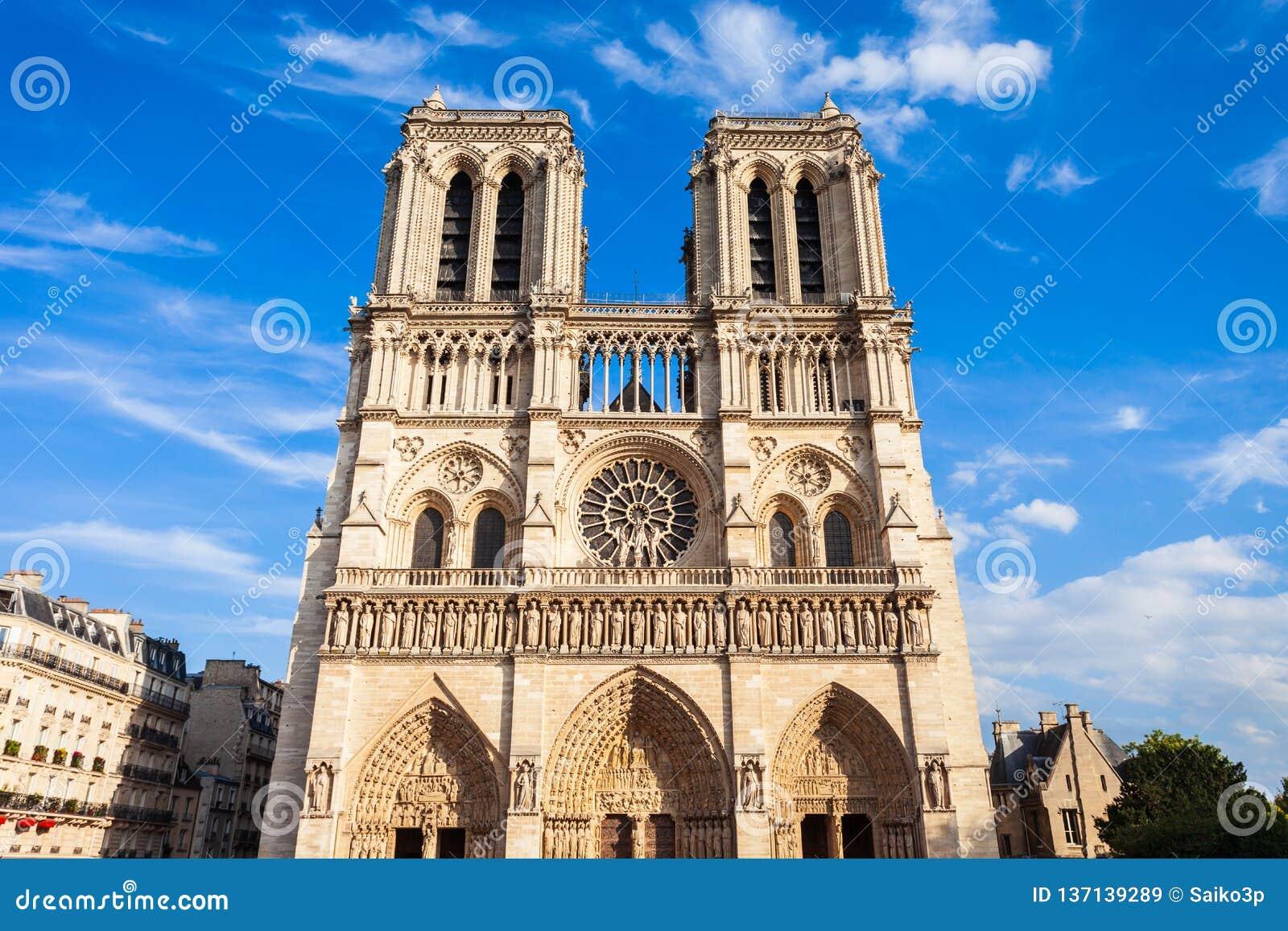 Notre Dame de Paris, Frankrike