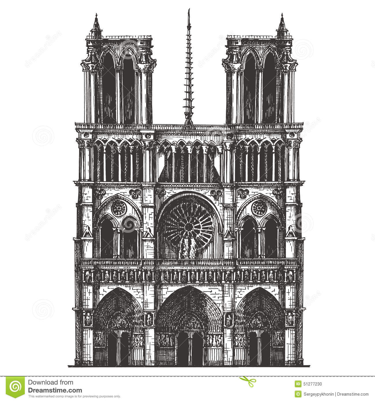 The architecture of notre dame de paris a historic catholic cathedral