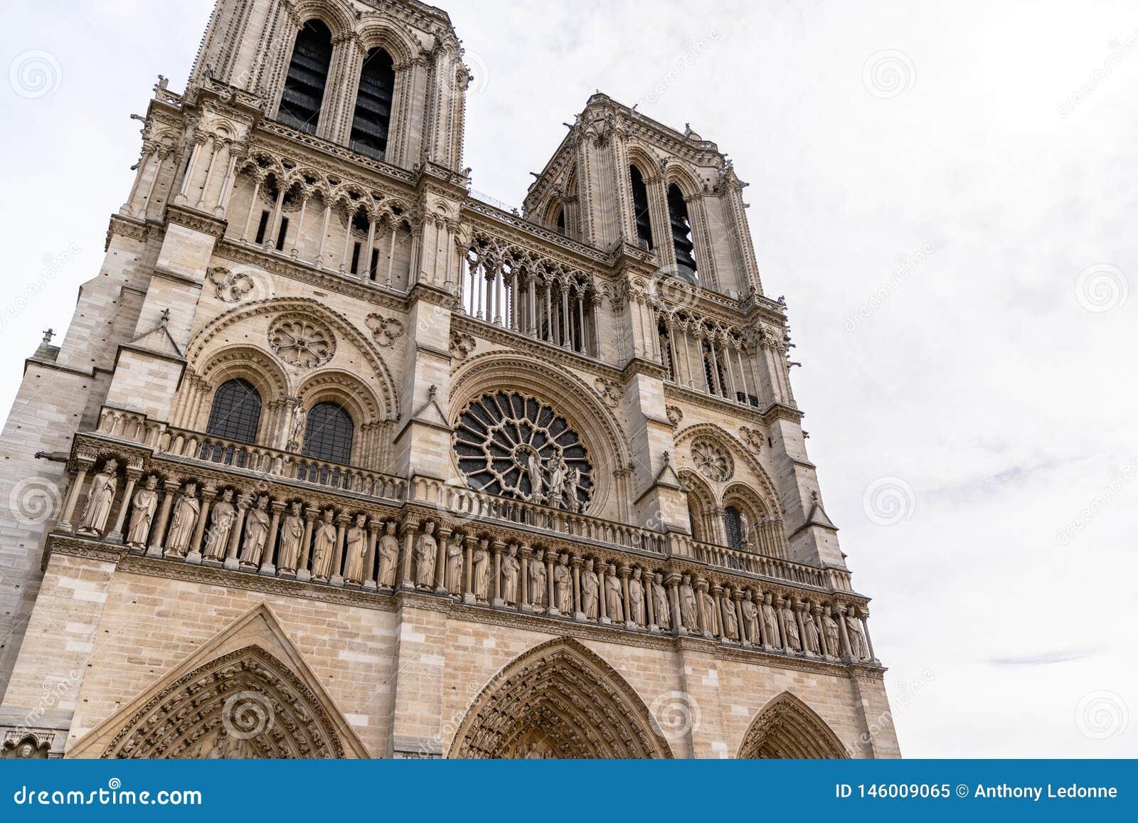 Notre Dame De Paris w Pary?, Francja
