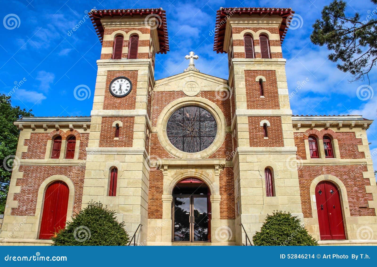 Notre dame des passes church le moulleau arcachon for Le jardin le moulleau
