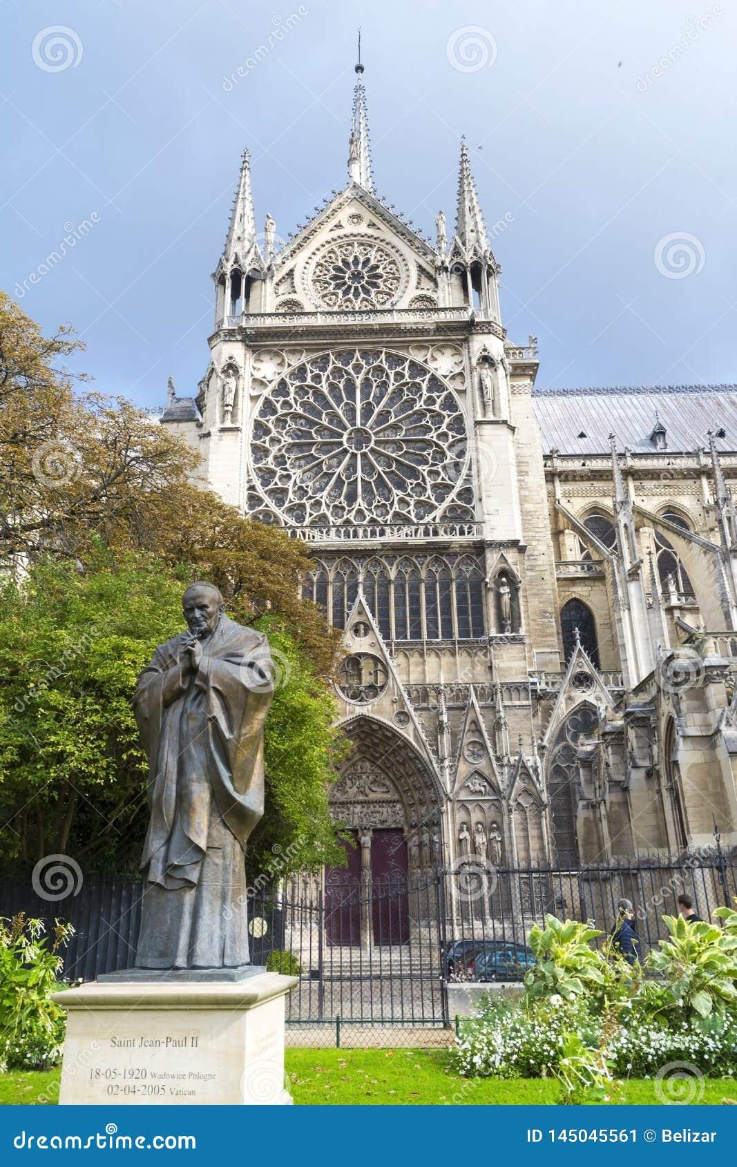 Notre- Damekathedrale in Paris