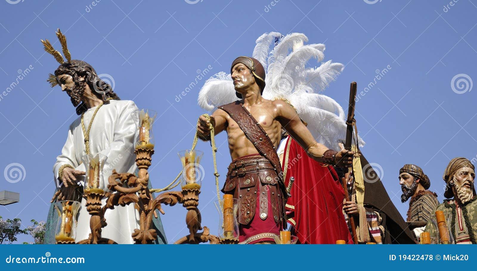 Notre père Jésus de silence au mépris de Herod.