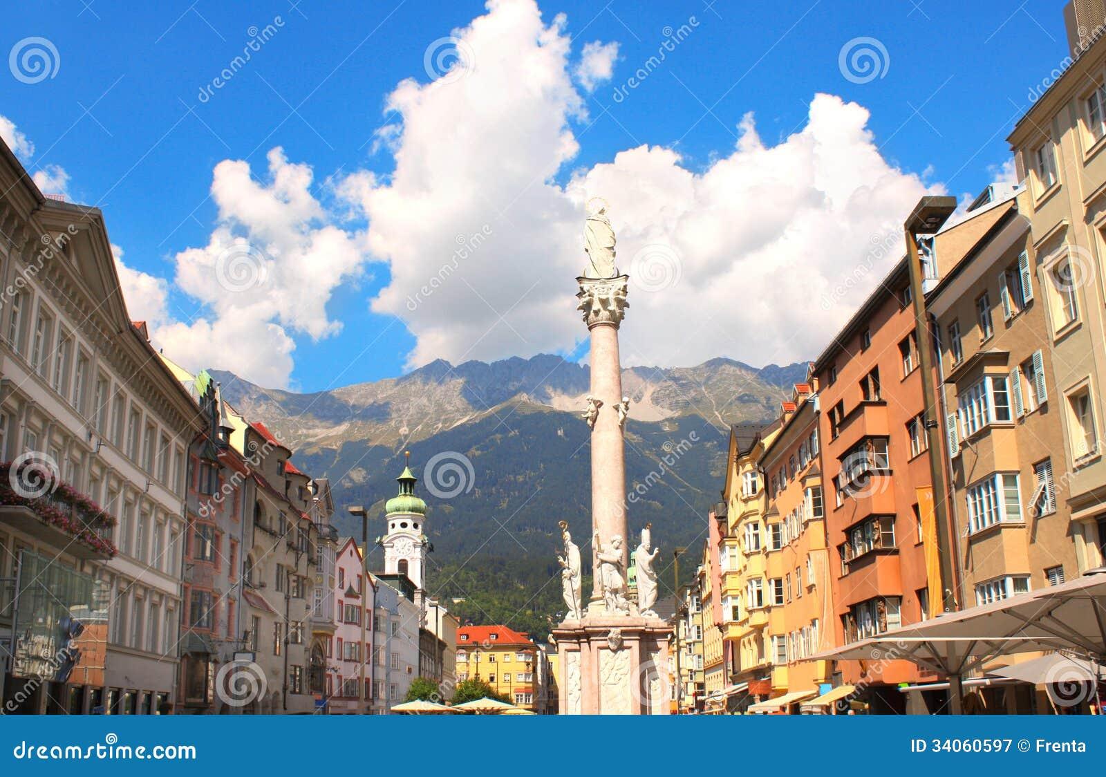 Notre statue de Madame à Innsbruck, Autriche