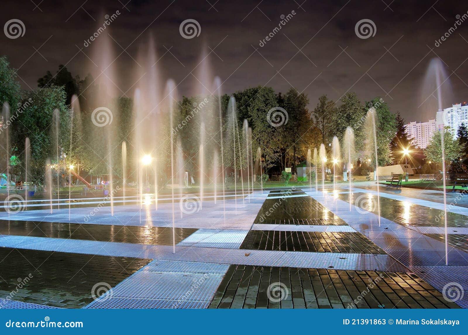 Notte della fontana