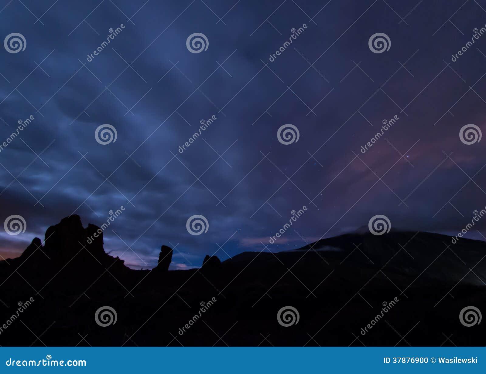 Notte mistica a Tenerife