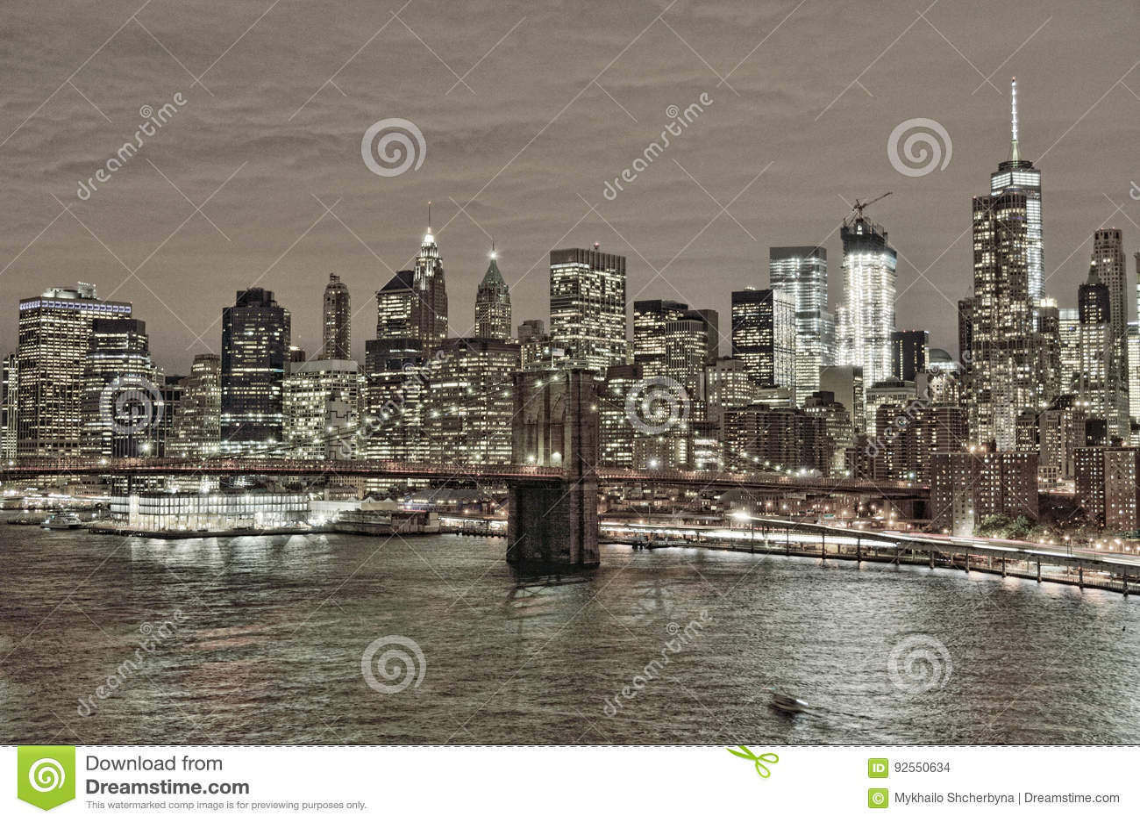 Notte sopra Manhattan