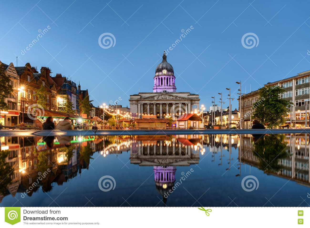 Nottingham het UK