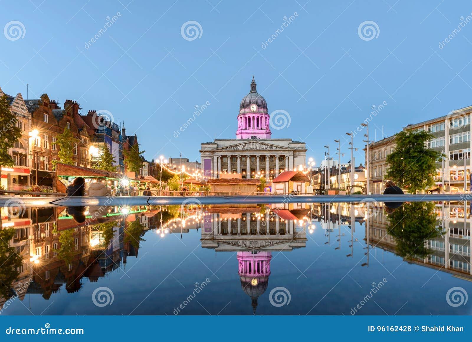 Nottingham stad Hall England