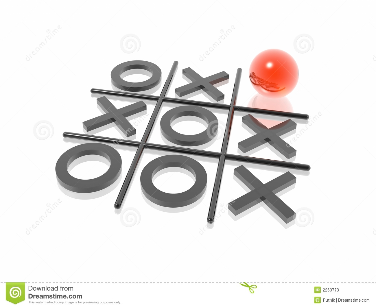 Noughts And Crosses Stock Photos - Image: 2260773