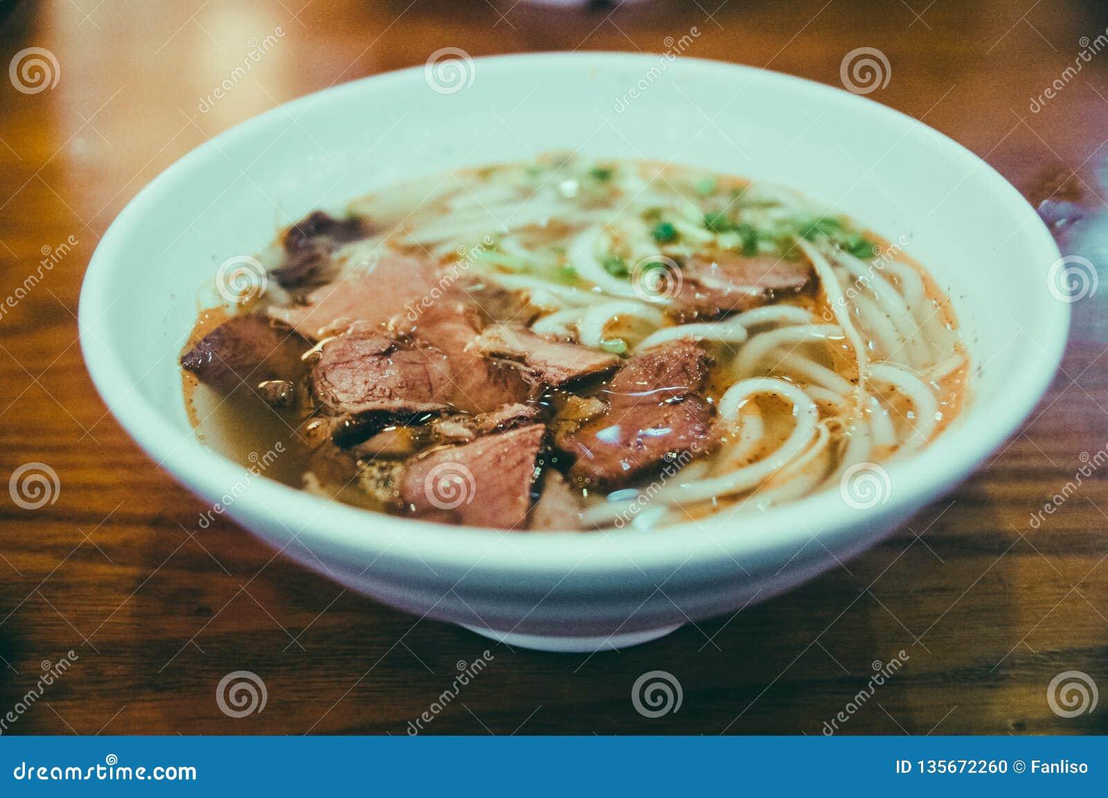 Nouilles de boeuf, nouilles chinoises, soupe