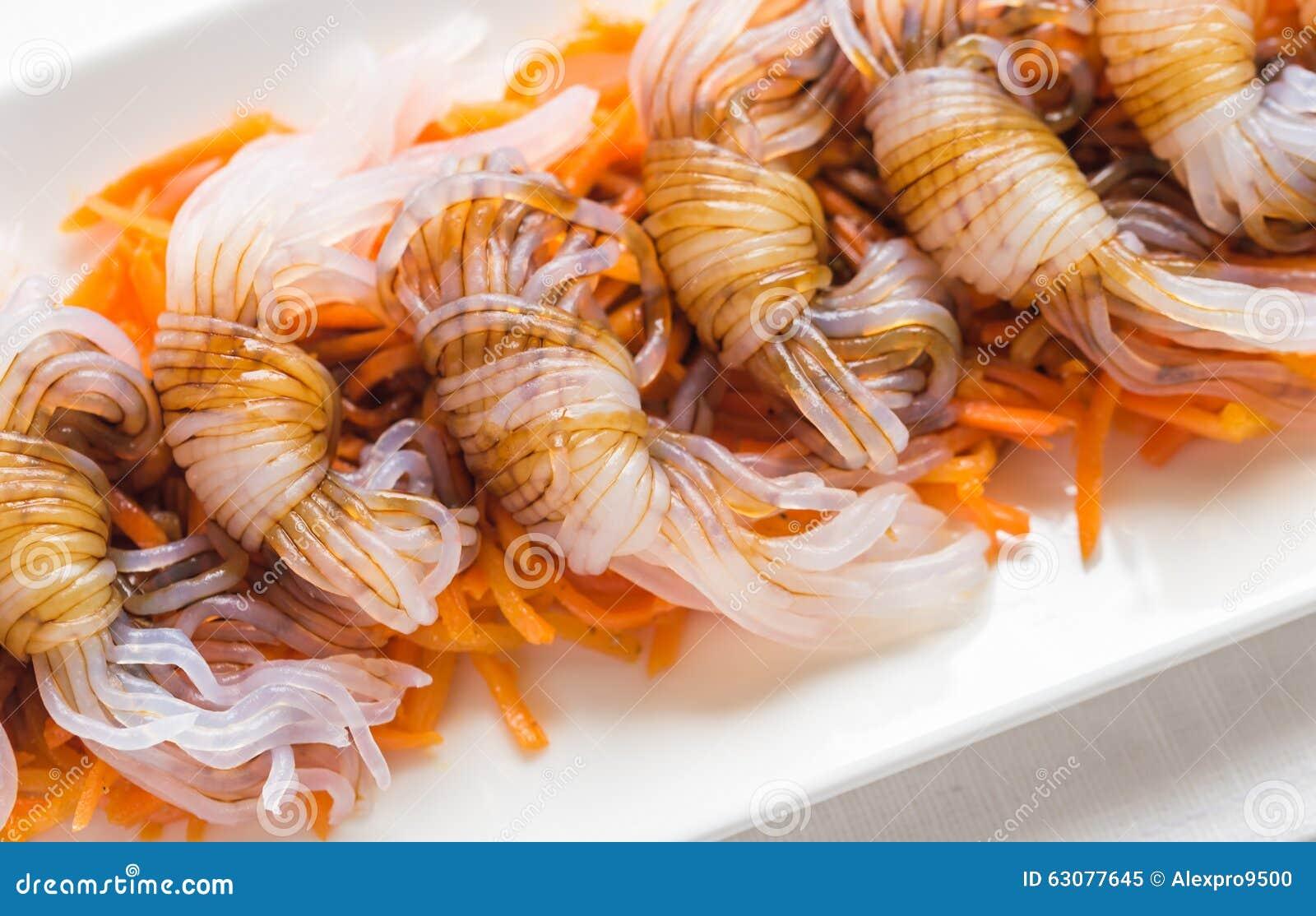 Download Nouilles De Shirataki Avec La Sauce De Soja Image stock - Image du organique, chinois: 63077645