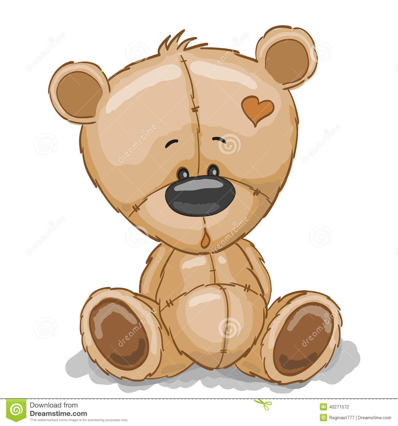 Nounours de dessin illustration de vecteur illustration du illustration 40271572 - Dessins de nounours ...