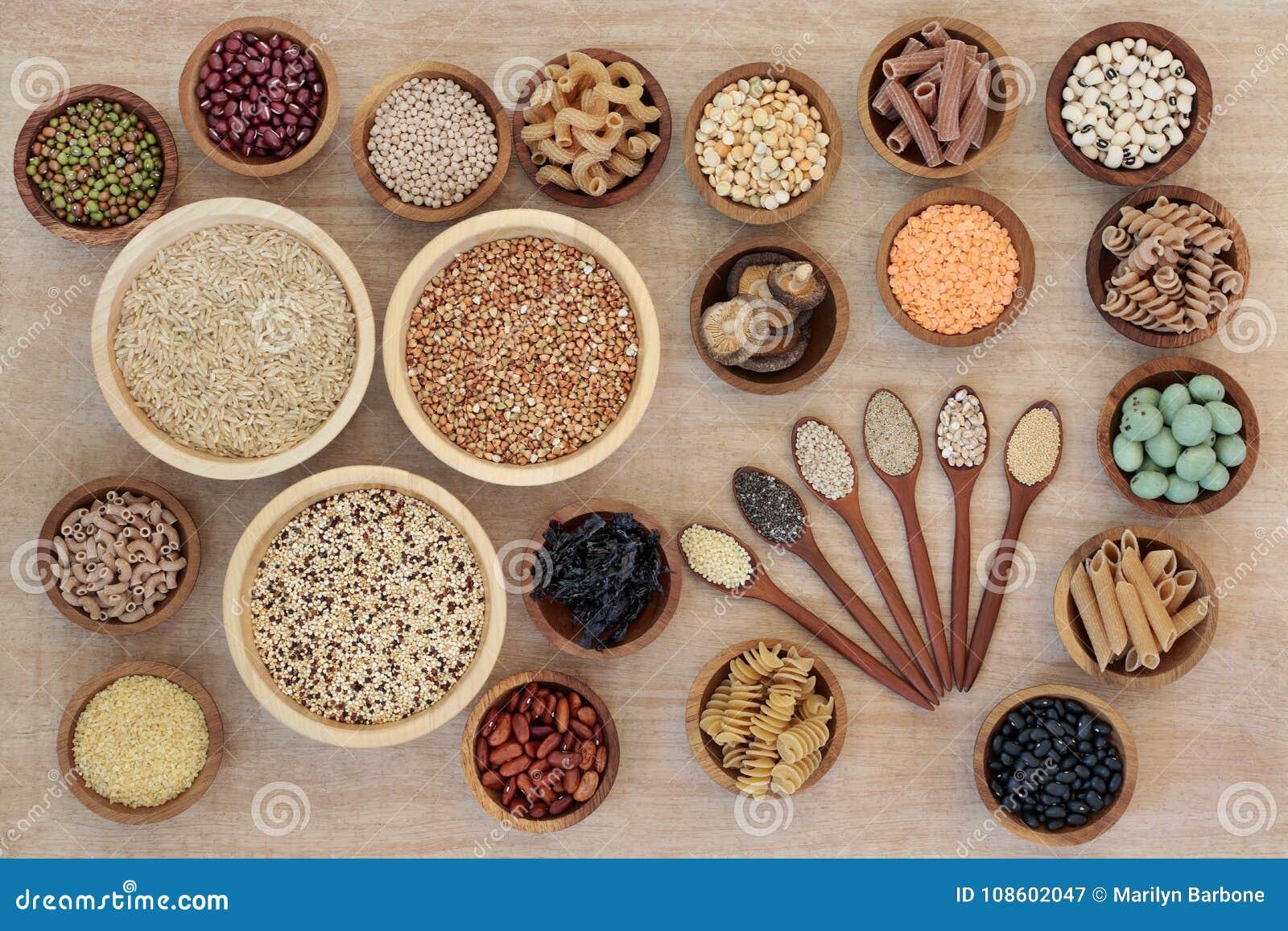 Nourriture biologique de régime macrobiotique