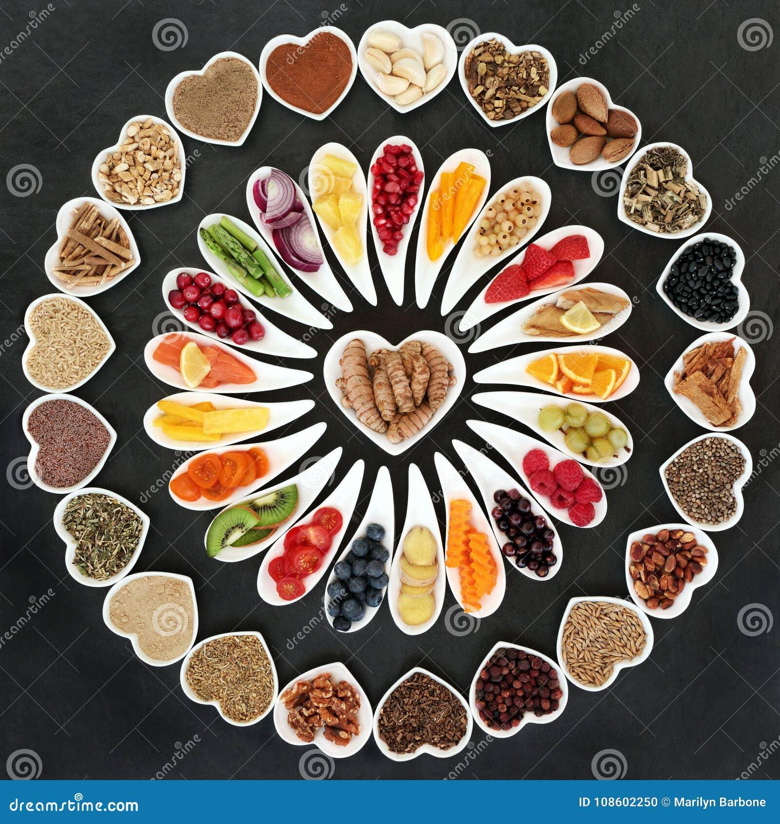 Nourriture biologique pour un coeur sain