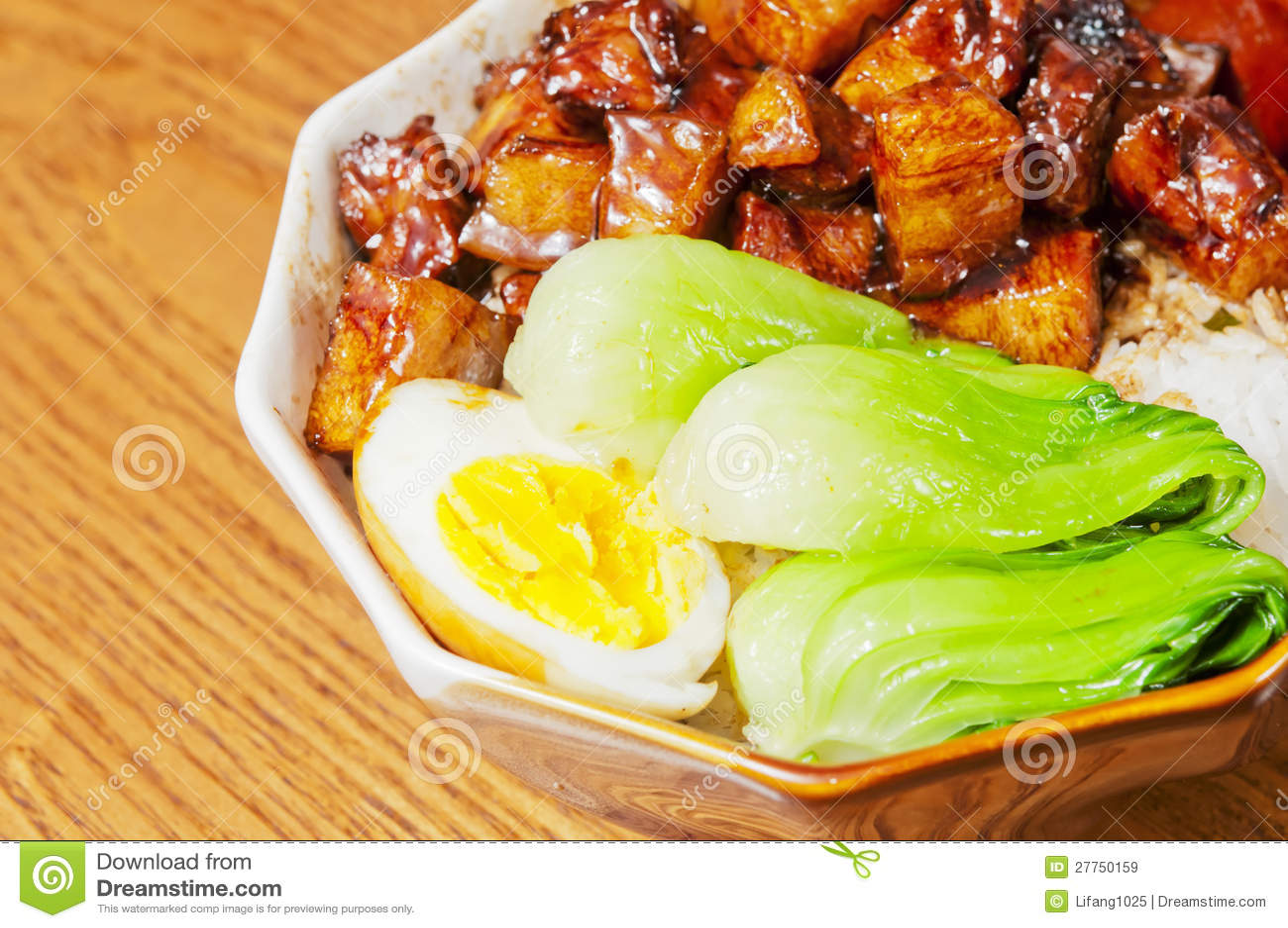 Nourriture chinoise--Braisez en viande de sauce de soja