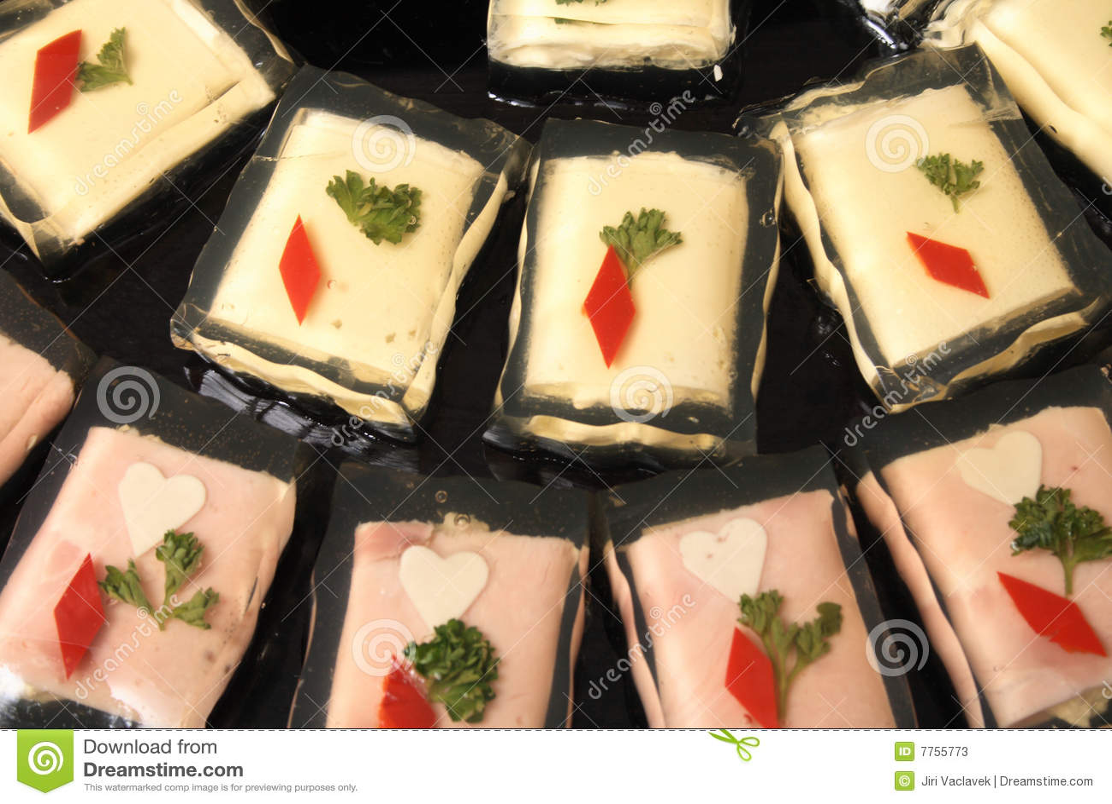 Nourriture d aspic