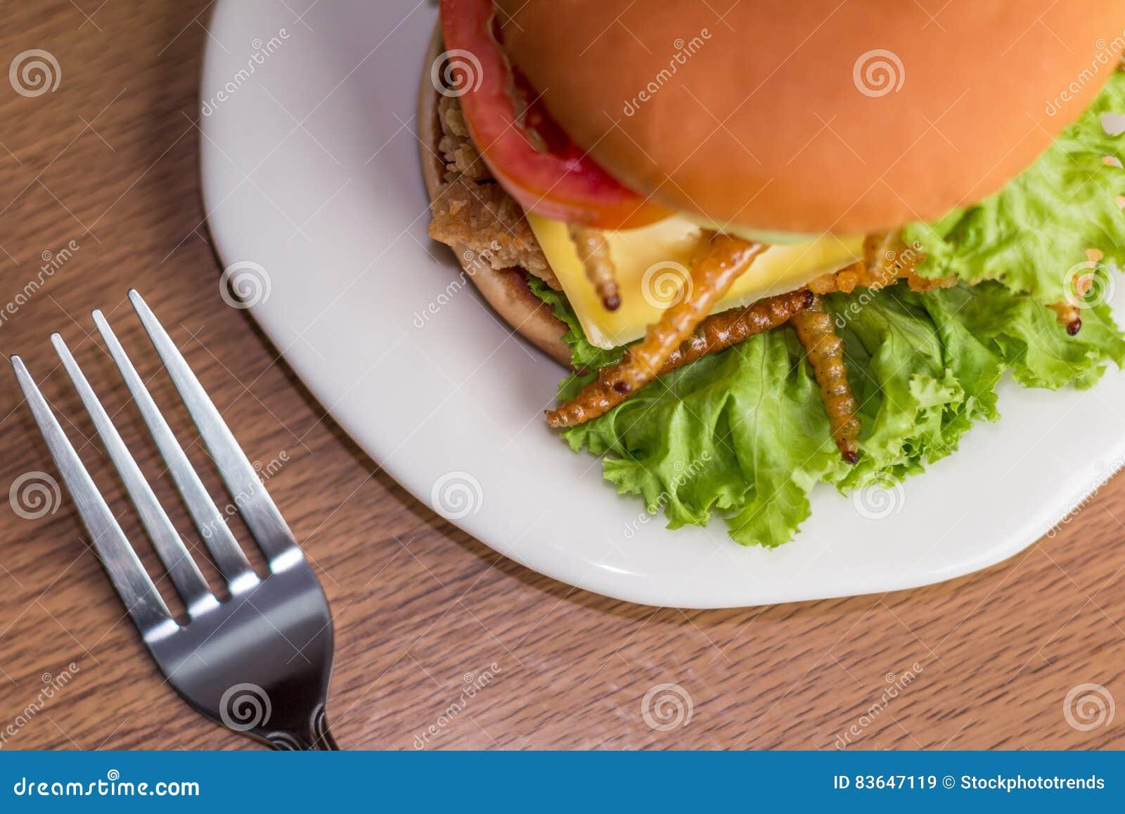 Nourriture d insecte