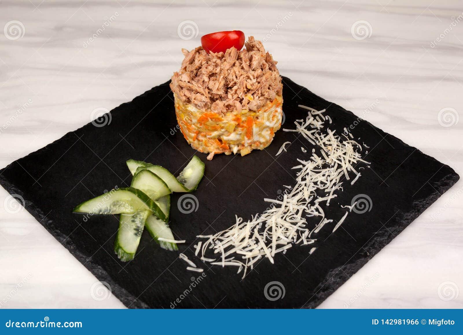 Nourriture dans le plat