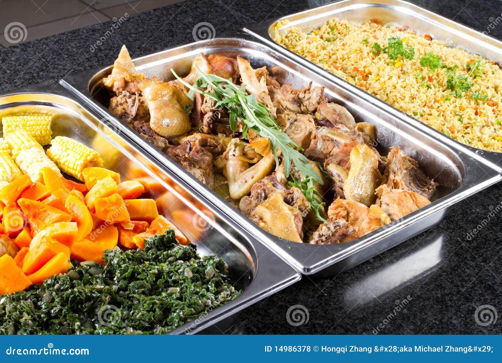Nourriture de buffet