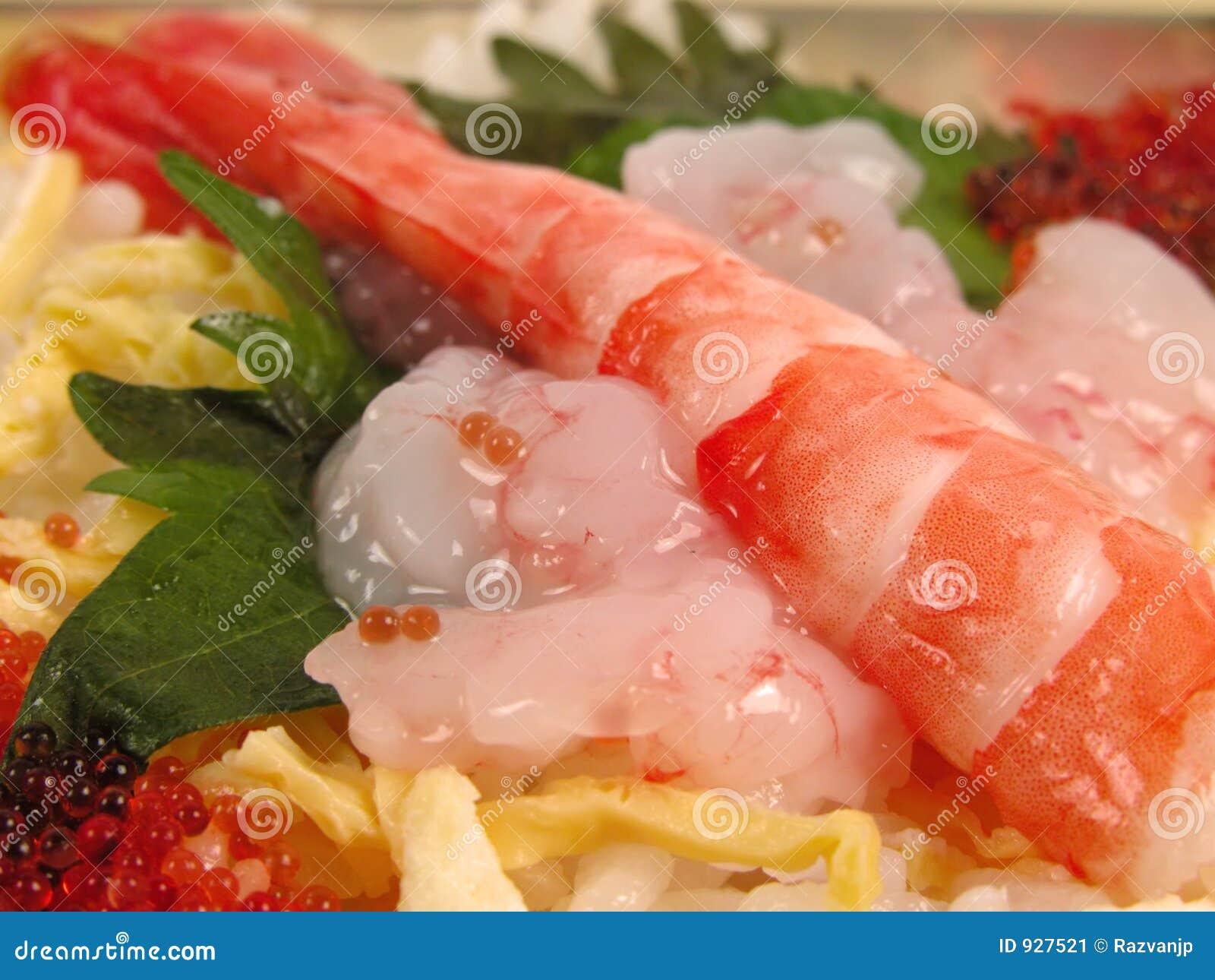 Nourriture de crevette