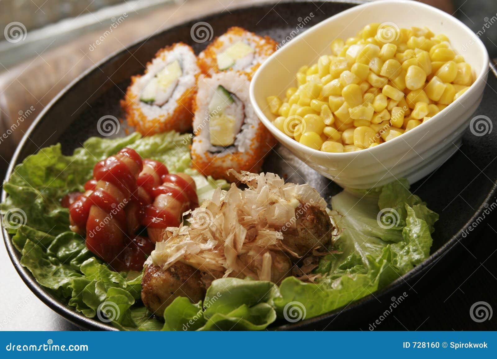 Nourriture de Japaness