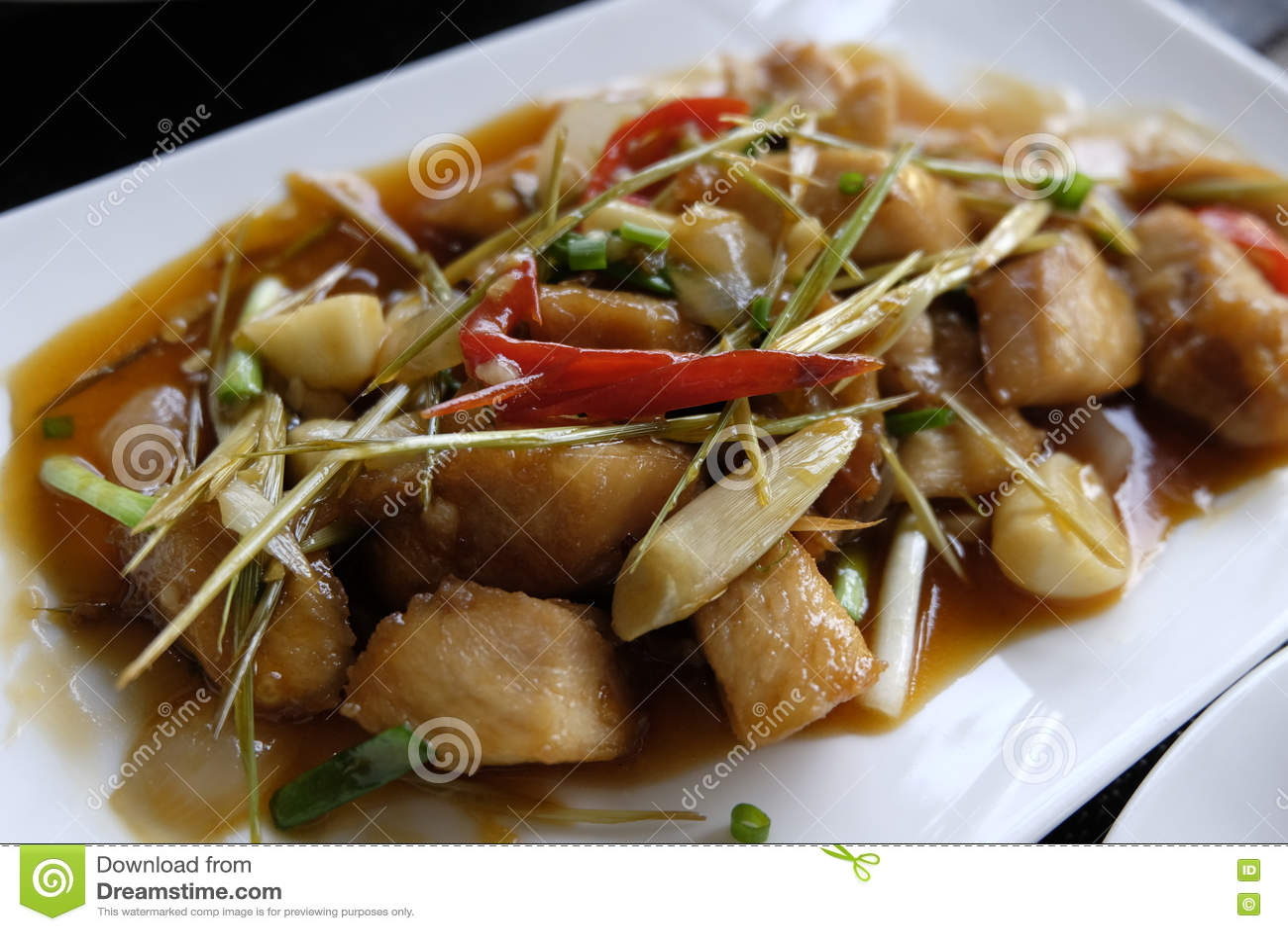 Nourriture de Khmer