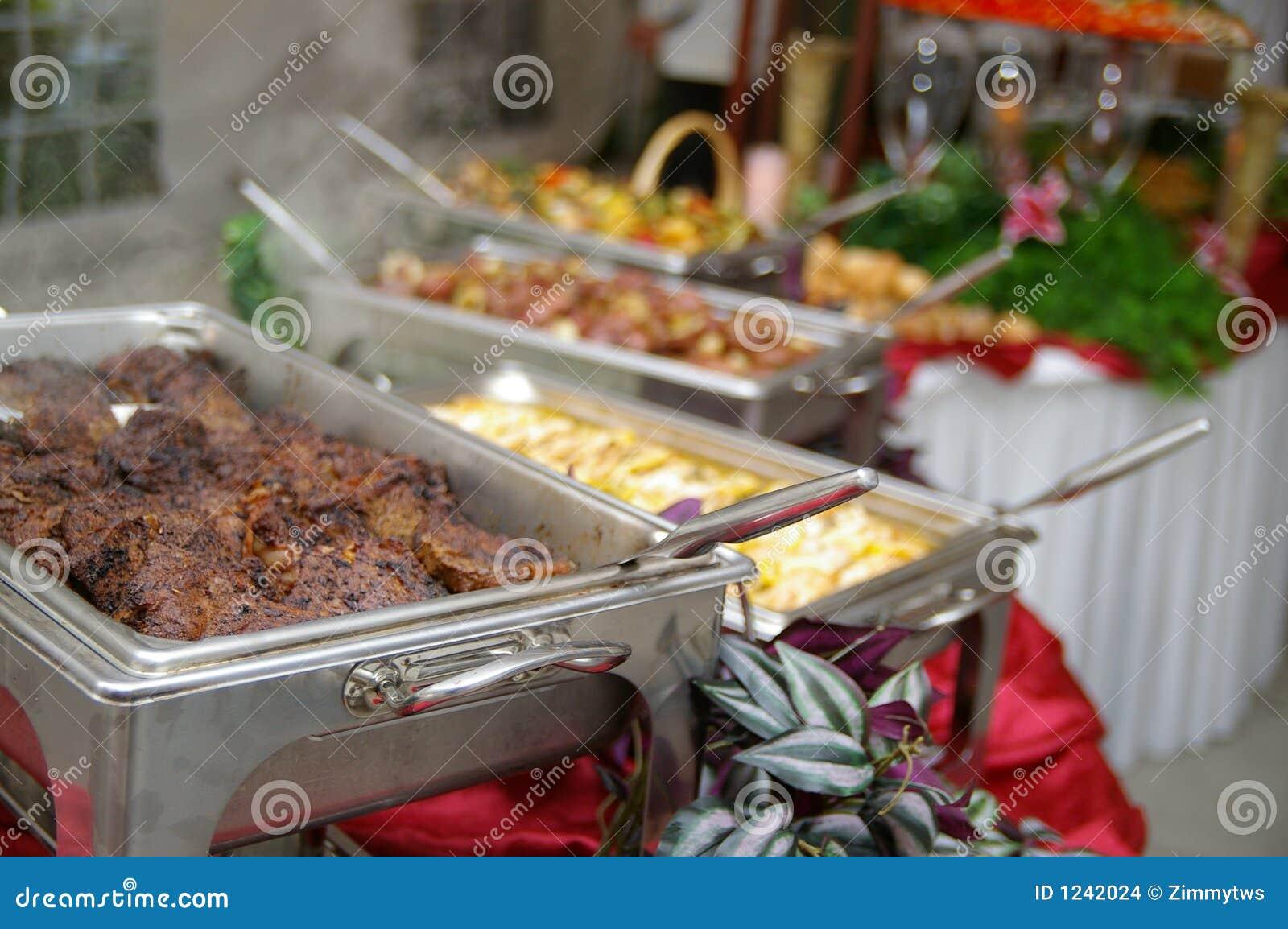 Nourriture de table de buffet