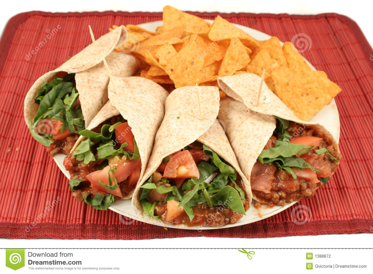 Nourriture mexicaine photo stock image du fajita d ner 1388872 for Cuisine mexicaine