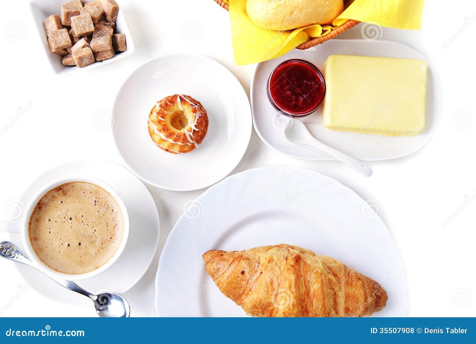 Nourriture pour le petit déjeuner