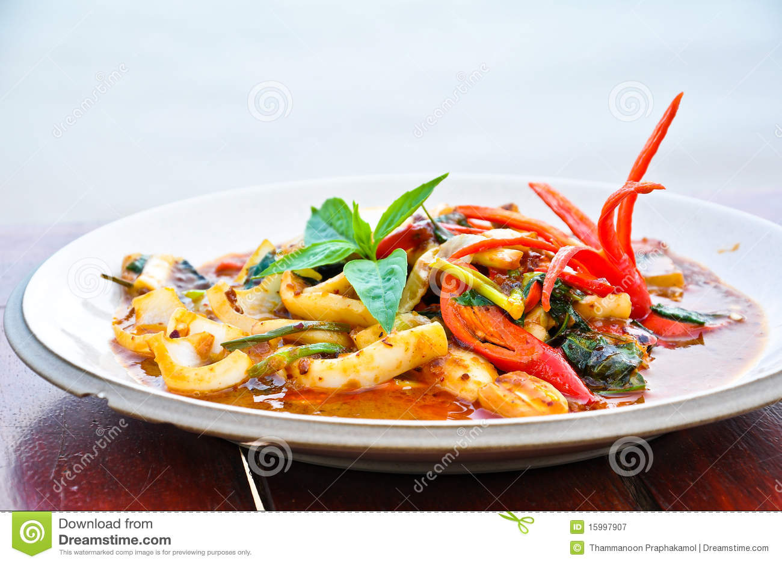 Nourriture thaïe
