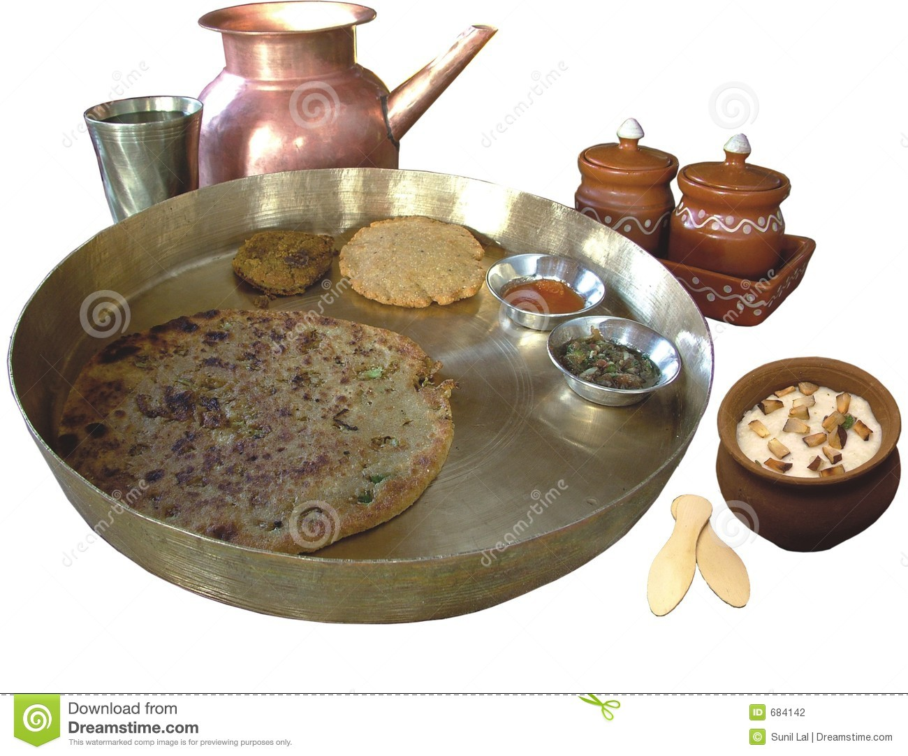 Nourriture traditionnelle indienne